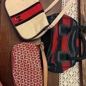 Lot of 3 Tommy Hilfiger purses